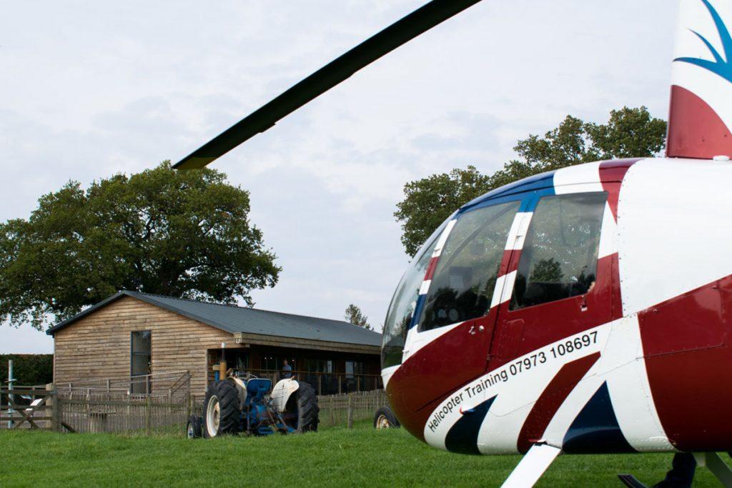 Helicopter trips Alderley Edge